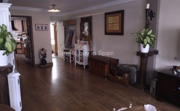 Salon de apartamento en Albatros III, Nueva Andalucia