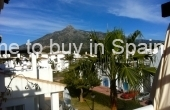 TTBR0004, Penthouse for rent in Nueva Andalucia, Los Naranjos de Marbella with solarium and mountain views